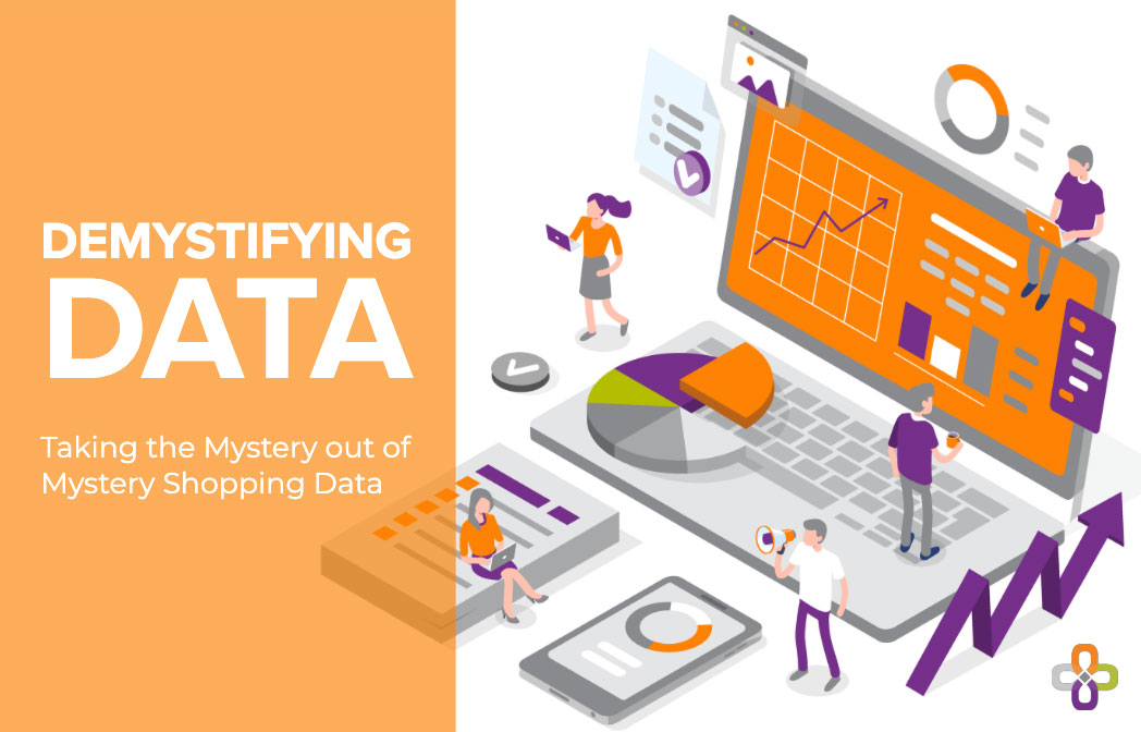 Demystifying mystery shopping graphic